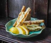 Pear, Bree, Almond Butter