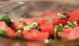 Blue Watermelon Salad